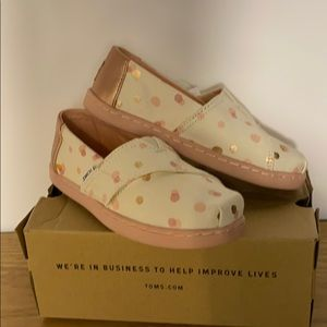 Pale Blush Party Dot Toms